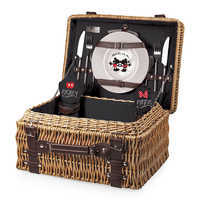 Image of Mickey and Minnie Mouse Picnic Basket # 1