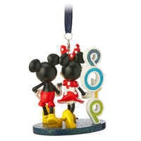 Image of Mickey and Minnie Mouse Figural Ornament - Walt Disney World 2019 # 2