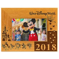 Walt Disney World 2018 Frame by Arribas - 4'' x 6'' - Personalizable