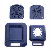 Image of Spider-Man Sandwich Stamp and Crust Cutter Set - Disney Eats # 1