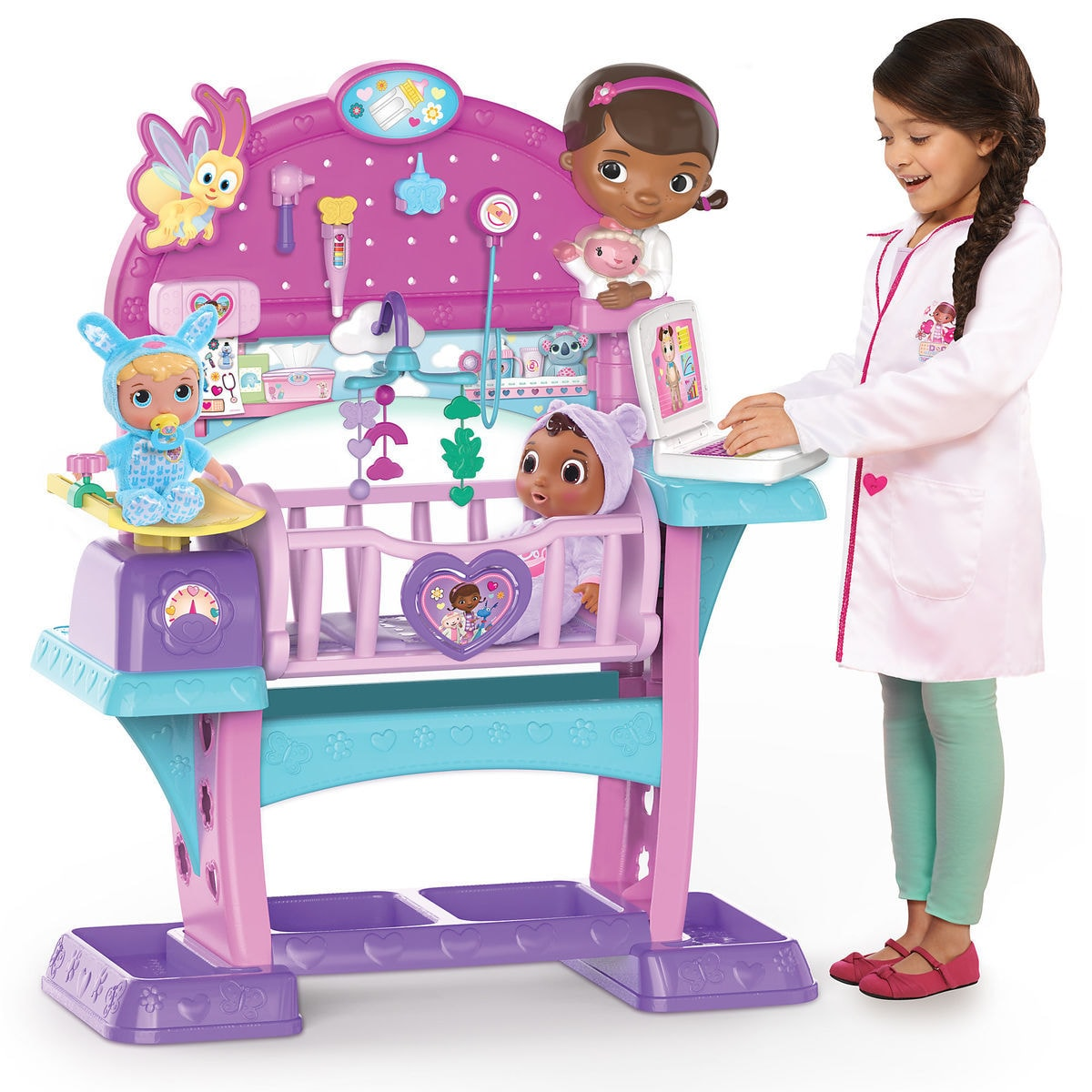 Doc Mcstuffins All In One Nursery Playset