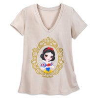 Art of Snow White Portrait T-Shirt for Women - Limited Release
