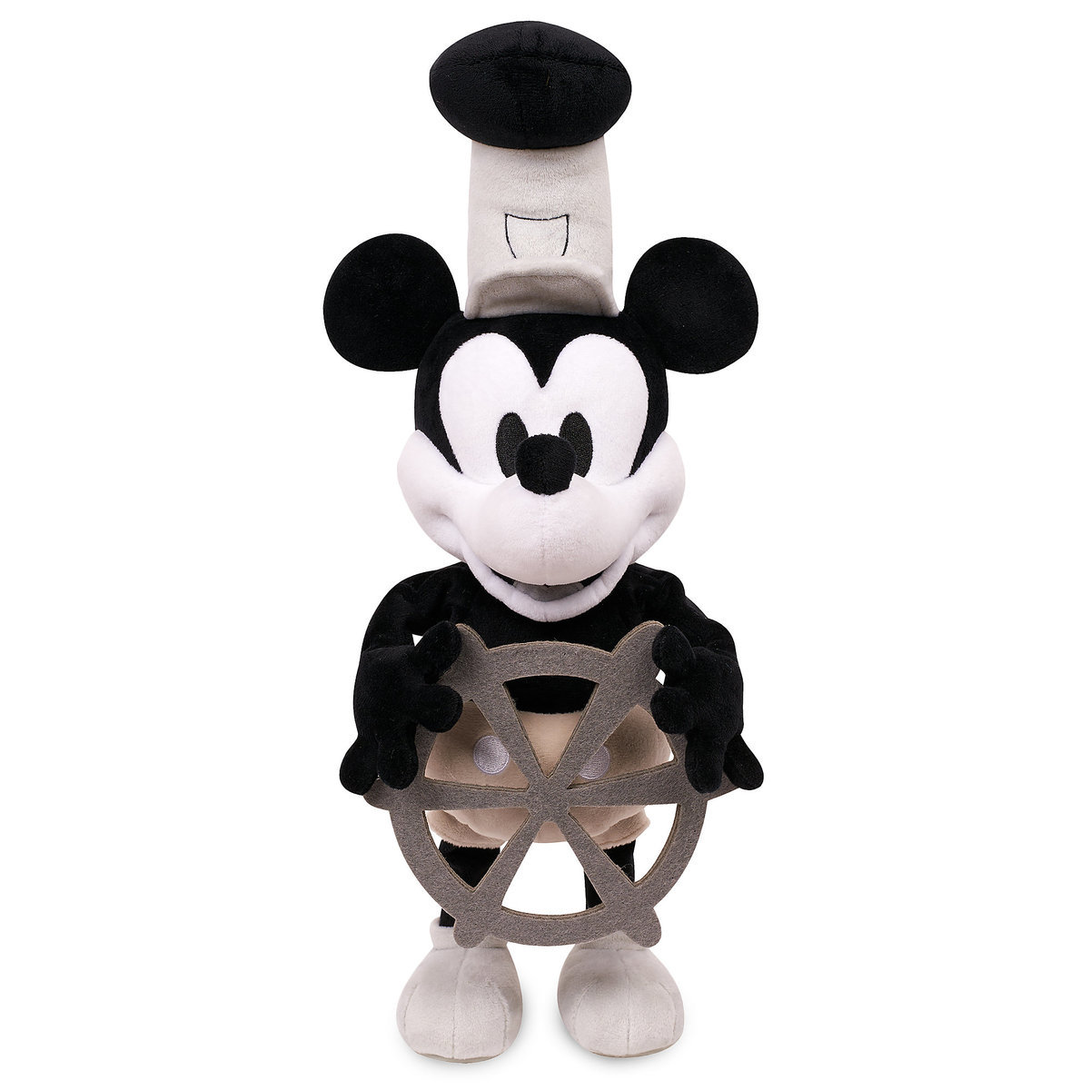 Mickey Mouse Steamboat Willie Plush Shopdisney