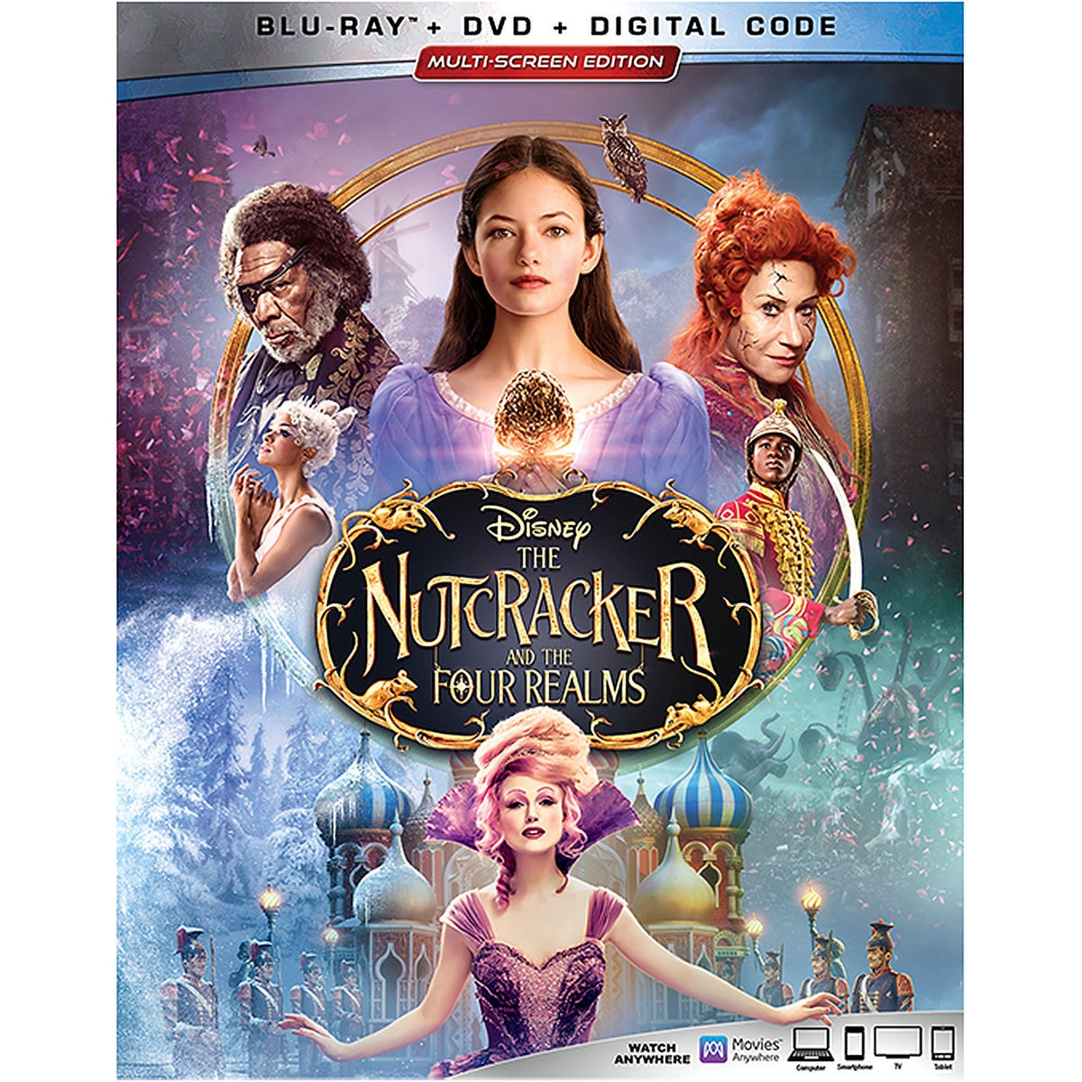 Product Image of The Nutcracker and the Four Realms Blu-ray Combo Pack Multi-Screen Edition # 1