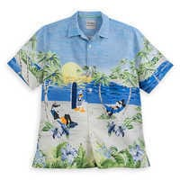 Image of Mickey Mouse and Friends Silk Shirt for Men by Tommy Bahama # 1