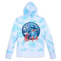 Image of Stitch Zip Hoodie for Women # 3