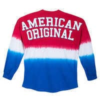 Image of Mickey Mouse Tie-Dye Americana Spirit Jersey for Adults # 3