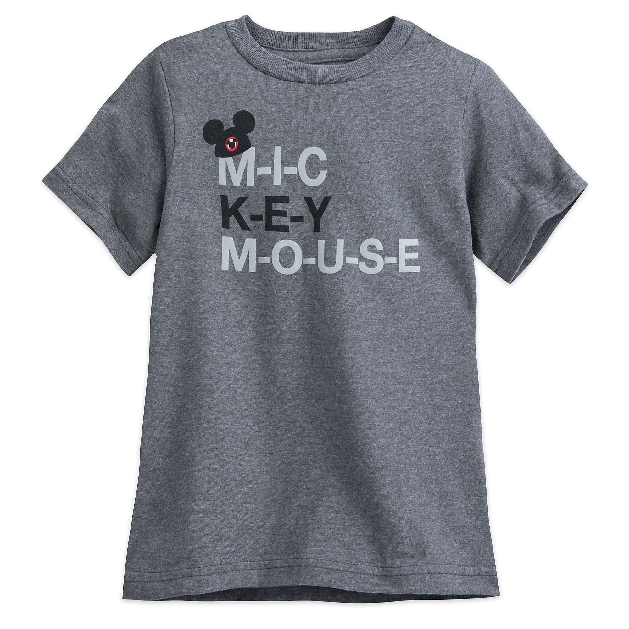 The Mickey Mouse Club Mouseketeer Text T-Shirt for Kids