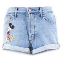Image of Mickey Mouse Denim Shorts by SIWY # 5