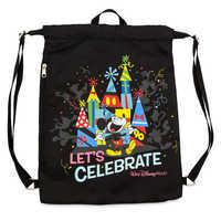 Image of Mickey Mouse ''Celebration of the Mouse'' Cinch Sack - Walt Disney World # 1