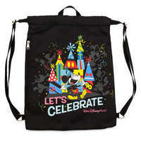 Image of Mickey Mouse ''Celebration of the Mouse'' Cinch Sack - Walt Disney World # 1