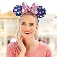Image of Minnie Mouse Polka Dot Headband # 2