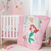Image of Ariel's Grotto Crib Bedding Set by Lambs & Ivy - The Little Mermaid # 2