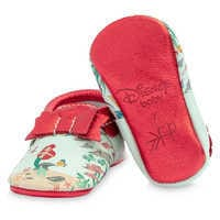 Image of The Little Mermaid Moccasins for Baby by Freshly Picked # 4