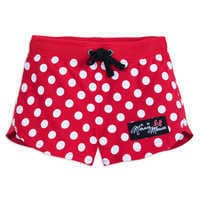 Image of Minnie Mouse Polka Dot Shorts for Girls # 1