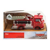 Image of Red Die Cast Fire Engine - Cars # 3