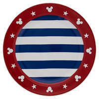 Image of Mickey Mouse Americana Dinner Plate # 1