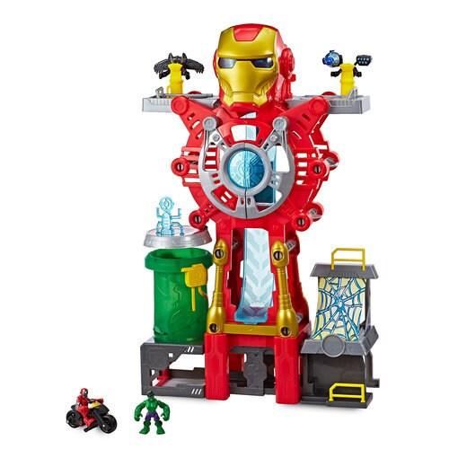 Iron Man Headquarters Playskool Heroes Marvel Super Hero