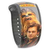Image of Han Solo and Chewbacca MagicBand 2 - Solo: A Star Wars Story # 1
