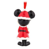 Image of Santa Mickey Mouse Bell Ornament # 2