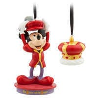 Image of Mickey Mouse Through the Years Sketchbook Ornament Set - The Prince and the Pauper - October - Limited Release # 1