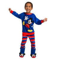 Image of Mickey Mouse Boot Slippers for Kids # 2