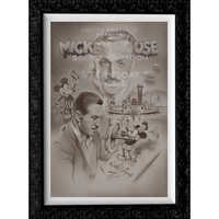 Image of Steamboat Willie ''Full Steam Ahead'' Limited Edition Giclée by Noah # 1
