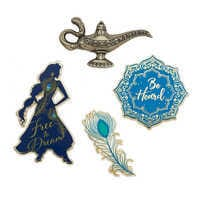 디즈니 알라딘 핀 세트 Disney Aladdin Pin Set - Live Action Film - Limited Release
