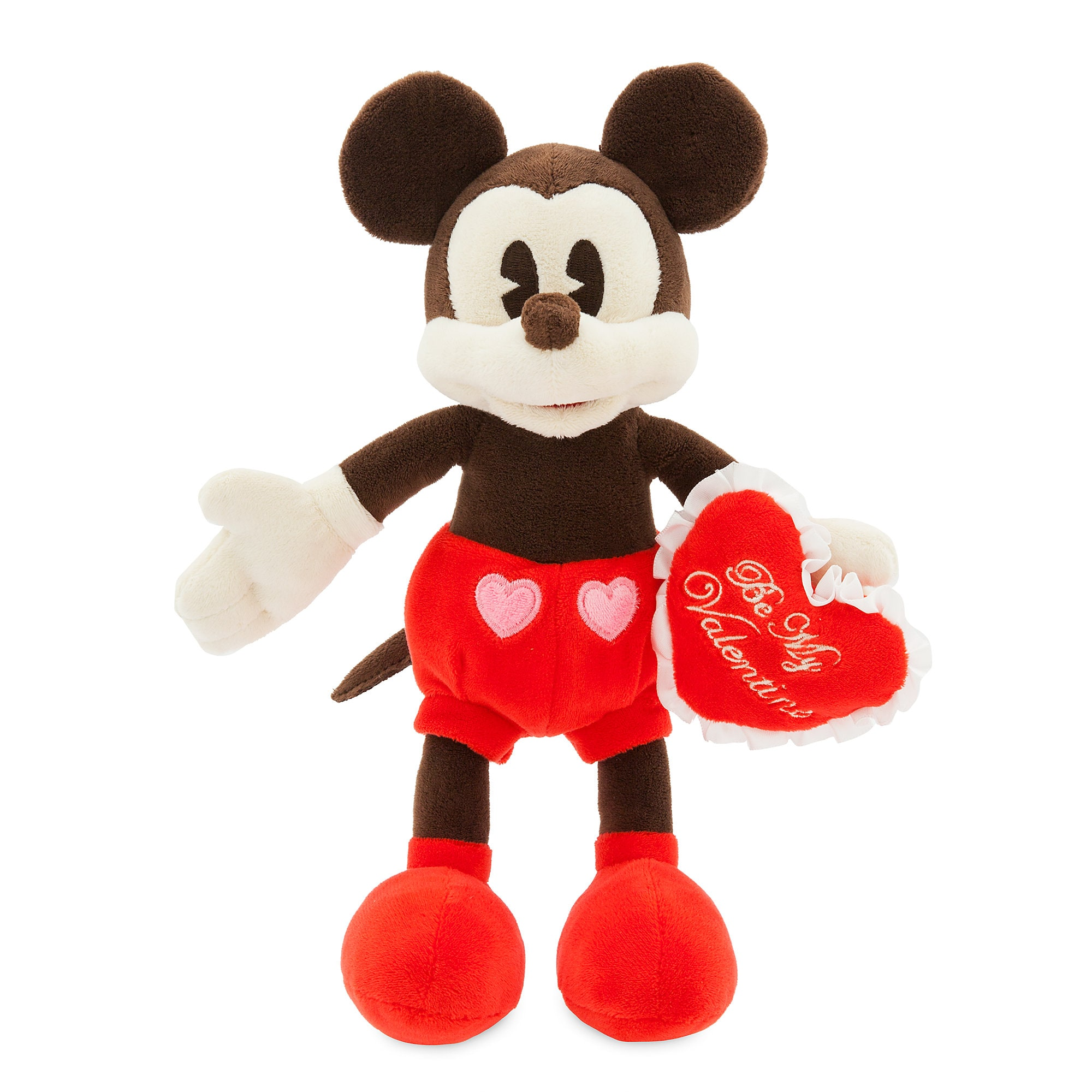 Mickey Mouse Valentine Plush   Small