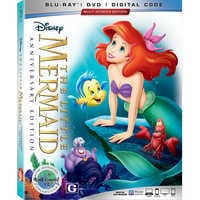 Image of The Little Mermaid Blu-ray Combo Pack Anniversary Edition # 1