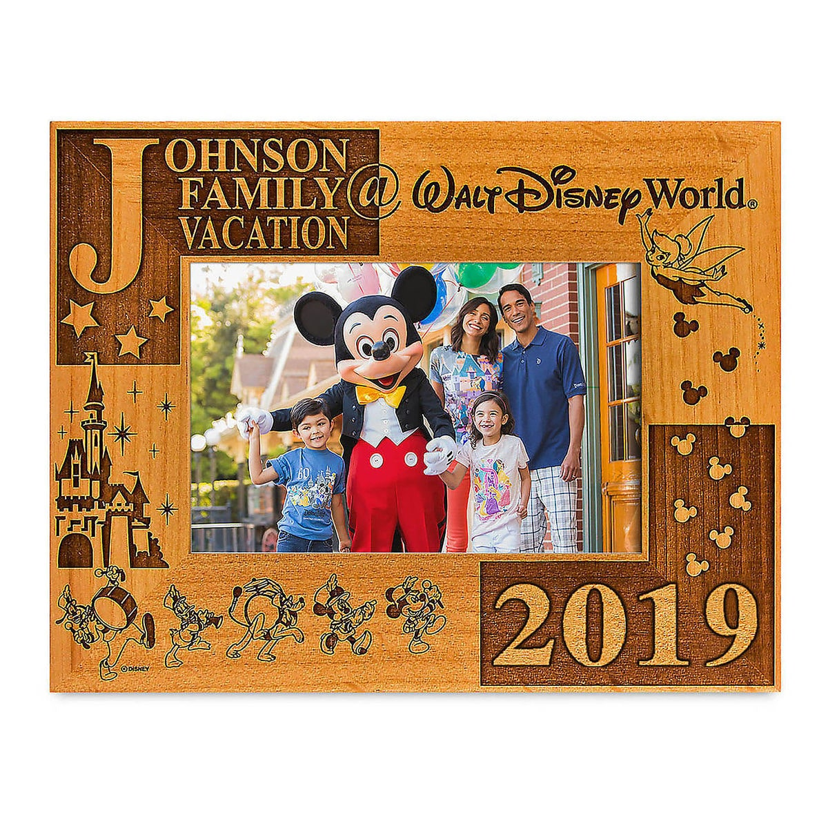Walt Disney World 2019 Frame By Arribas 4 X 6 Personalizable