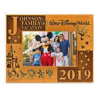 Image of Walt Disney World 2019 Frame by Arribas - 4'' x 6'' - Personalizable # 1
