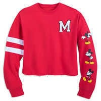 Image of Mickey Mouse Cropped Pullover for Women # 1