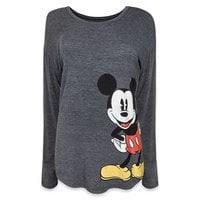Mickey Mouse Long-Sleeve T-Shirt - Women