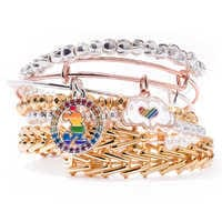 Image of Rainbow Disney Collection Mickey Mouse Heart Bangle by Alex and Ani # 5
