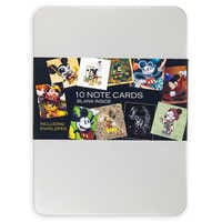 Image of Mickey Mouse ''Celebration of the Mouse'' Notecard Set # 2