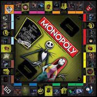 Image of The Nightmare Before Christmas 25th Anniversary Monopoly Game # 2
