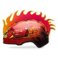 Image of Lightning McQueen Bike Helmet # 1