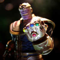 Image of Thanos Action Figure by Marvel Select - 7'' # 3