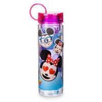 Image of Mickey Mouse and Friends Emoji Water Bottle with Stickers # 3