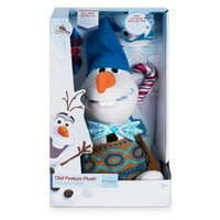 Image of Olaf Talking Holiday Plush - Small - 10'' # 7