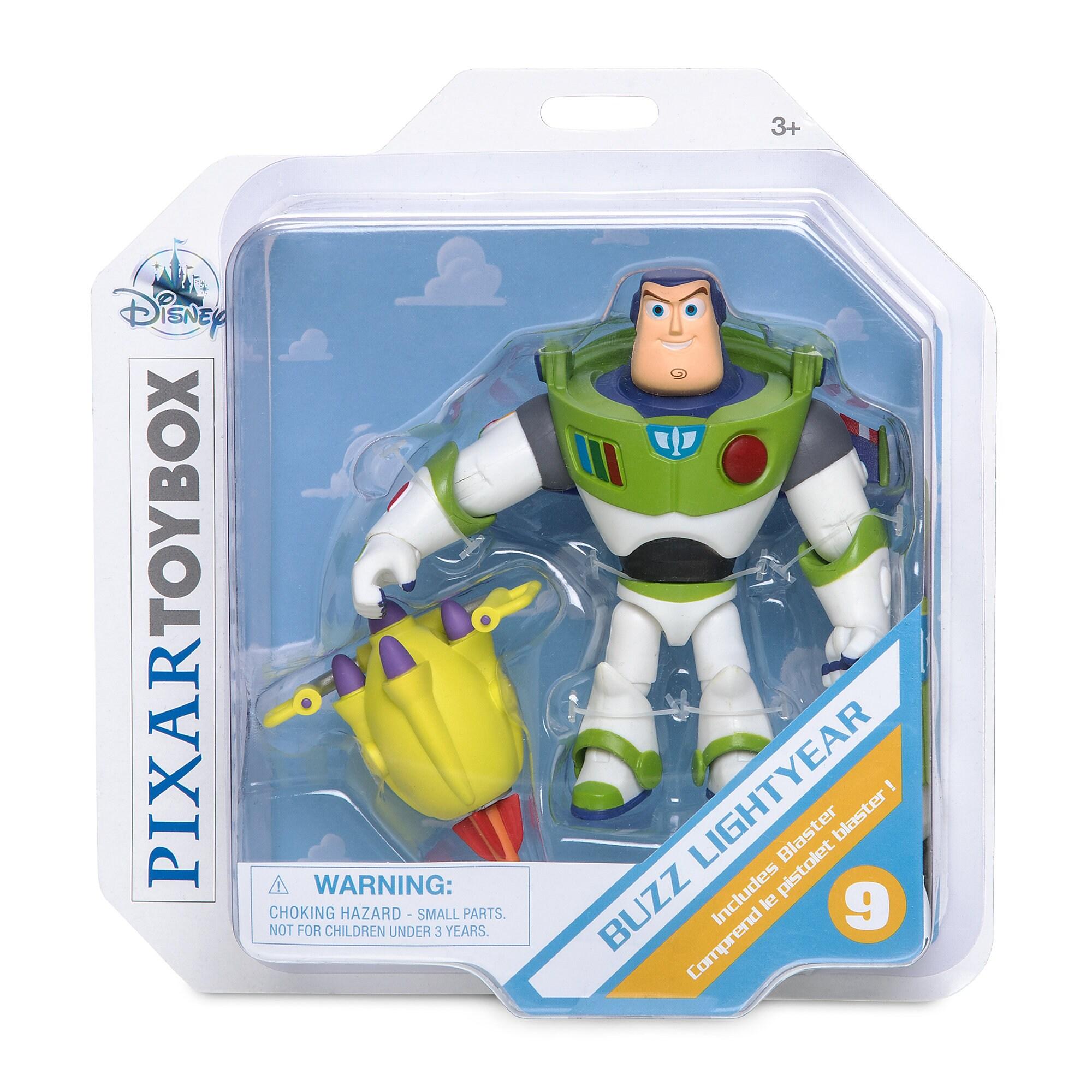 Buzz Lightyear Action Figure - Toy Story 4 - PIXAR Toybox