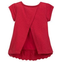 Image of Snow White Lace Top for Girls # 2