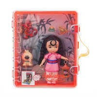 Image of Disney Animators' Collection Mulan Mini Doll Playset # 3