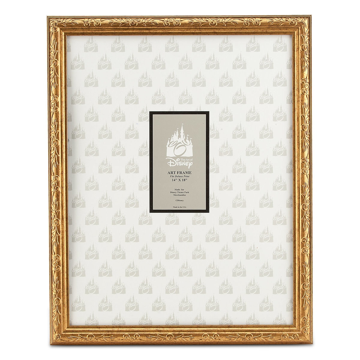 Mickey Mouse Gold Frame - 14\'\' x 18\'\' | shopDisney