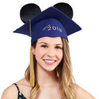 Image of Mickey Mouse Ear Hat Graduation Cap for Adults - 2019 # 2