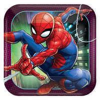 Image of Spider-Man Webbed Wonder Lunch Plates # 1