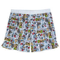 Image of Mickey Mouse and Friends Comic Boxer Shorts for Men # 1