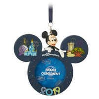 Image of Mickey Mouse Frame Ornament - Walt Disney World 2019 # 1