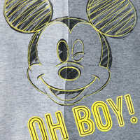 Image of Mickey Mouse ''Oh Boy!'' Romper for Baby # 5